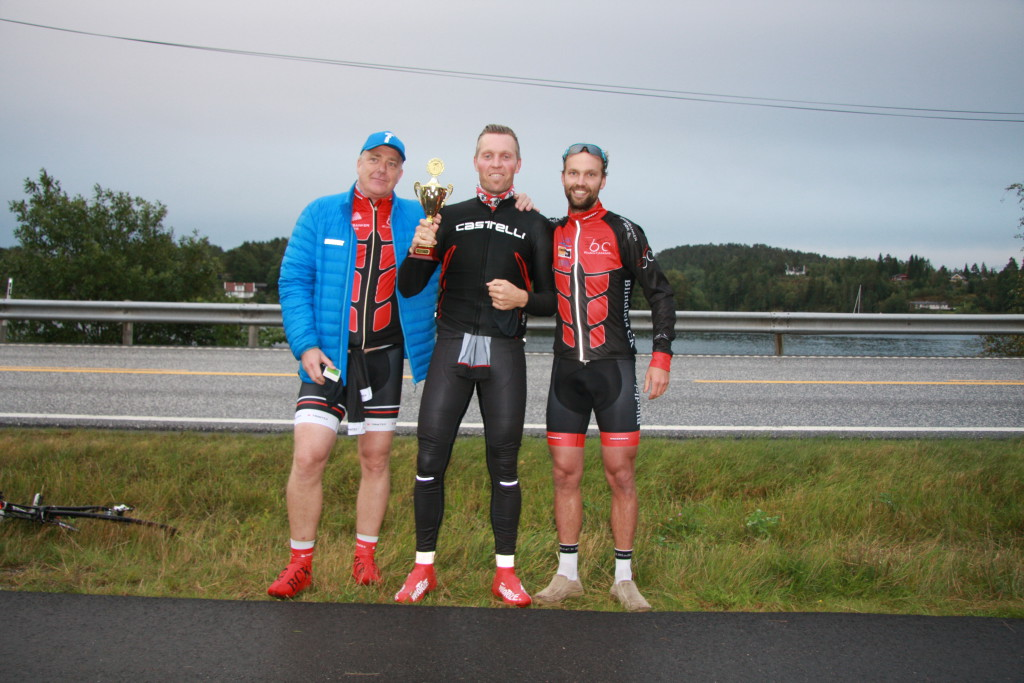 Fra venstre: Bjørn Ole Kolshus, Morten Arentz-Grastvedt og Sigbjørn Sivertsen